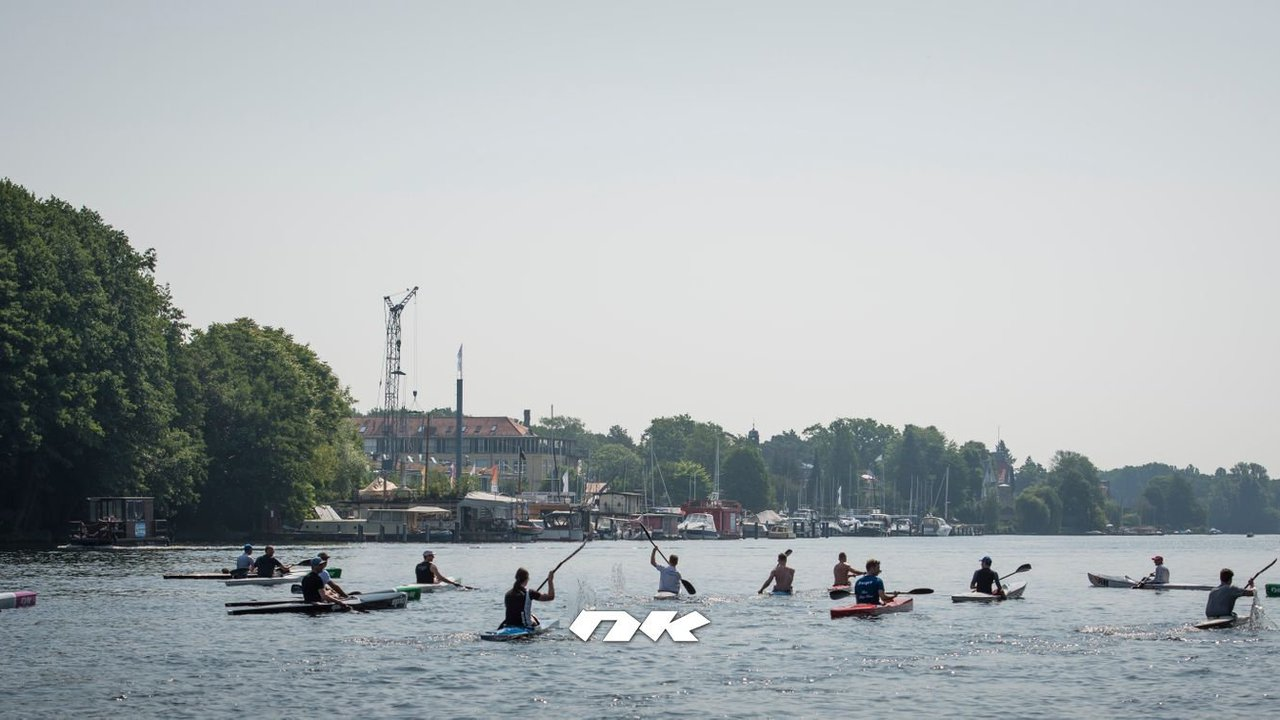 "Surfski Clinic mit ""Flash"" Gordan Harbrecht bei TiB Kanu Oberspree"